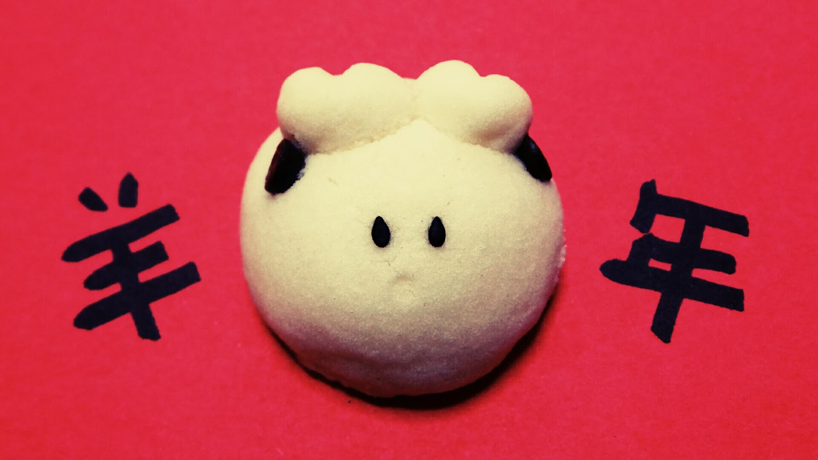 Sheep goat melt in your mouth chinese new year cookies. CNY 羊状酥饼 新年饼干