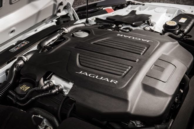 2016 Jaguar F-Type Engine