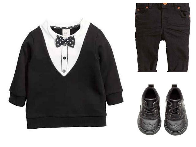 ubranie dla chłopca na święta