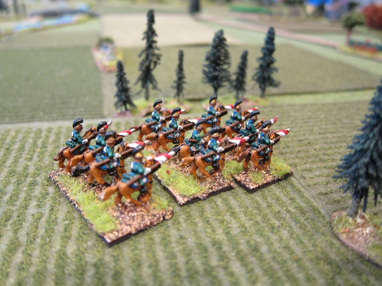 10mm Napoleonics Flocked Felt Fields By Hotz Mats
