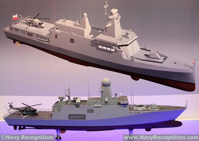 MEKO A-100 corvette design