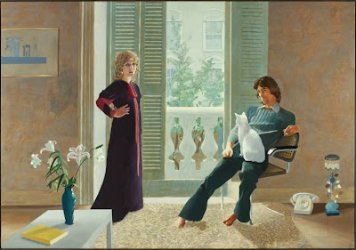 David Hockney - Mr and Mrs Clark and Percy  1970-1