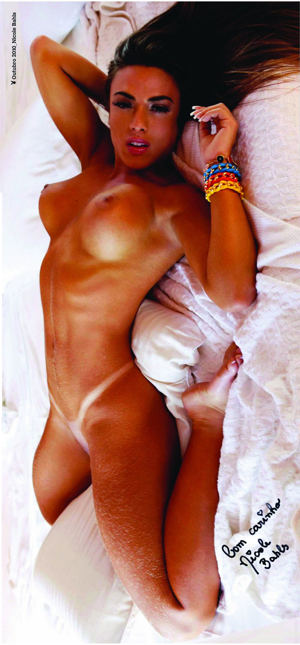 Nicole Bahls Pelada Na Playboy