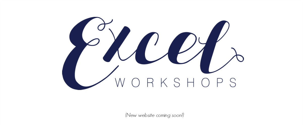 Excel Workshops