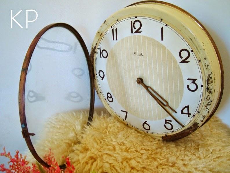 comprar reloj de pared vintage shabby chic