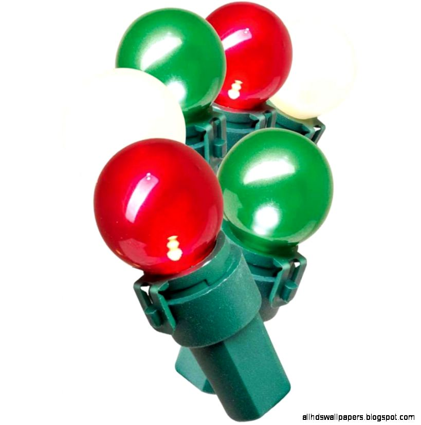 Holiday Time Lite Lock LED Pearl ized Glass G15 Christmas Lights
