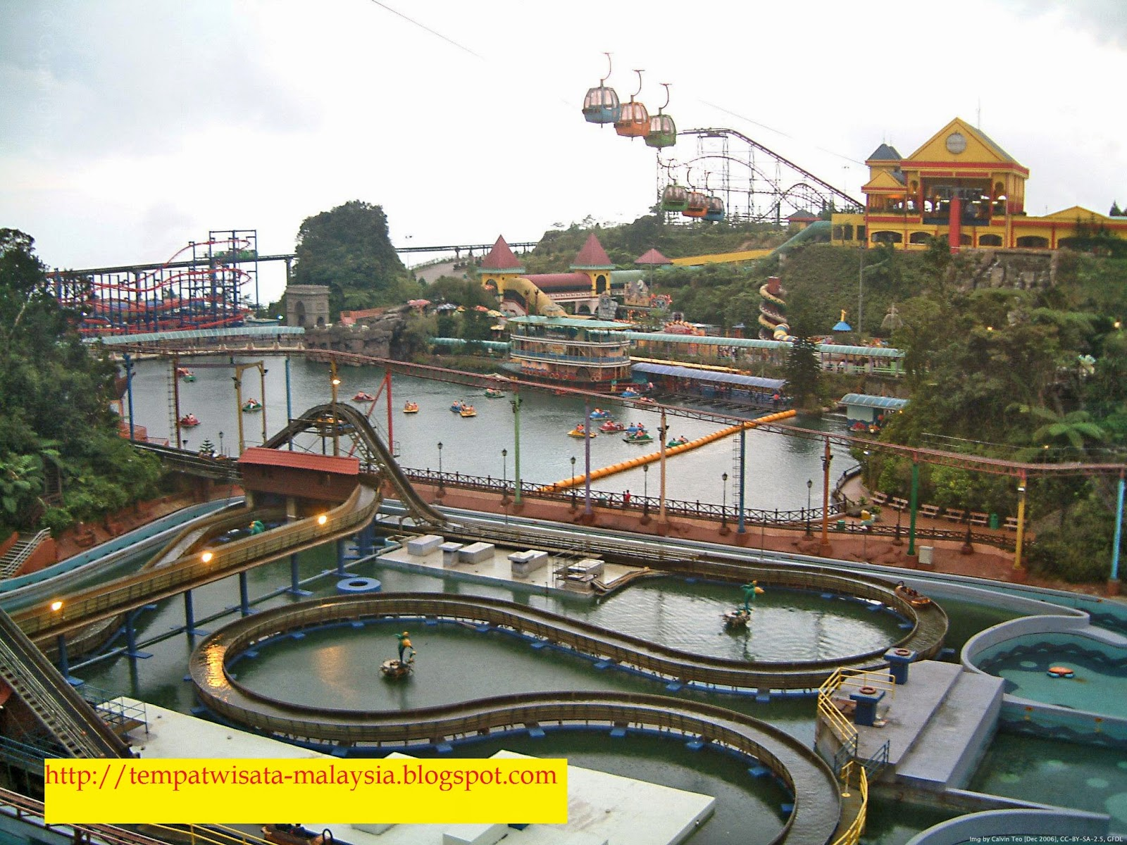 wisata andrenaline genting highlands malaysia
