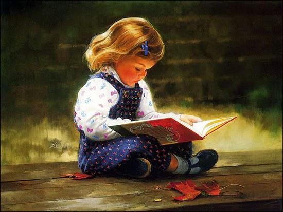 Світ дитини з книгою.
