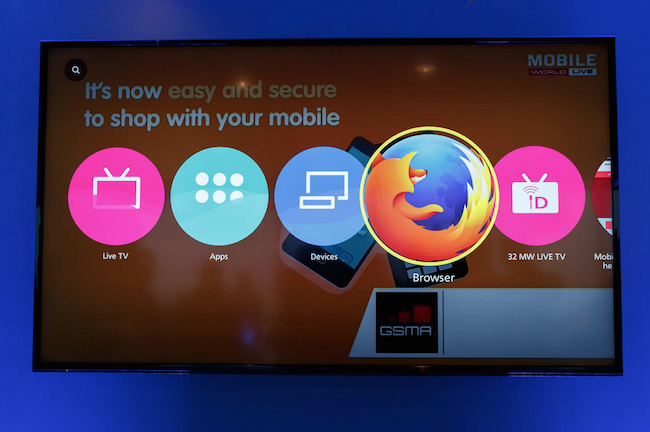 Panasonic Reveals its 4K TV Runs mozilla Firefox OS