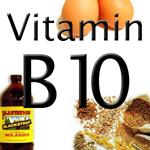 Resultado de imagen para Vitamina B10 o PABA