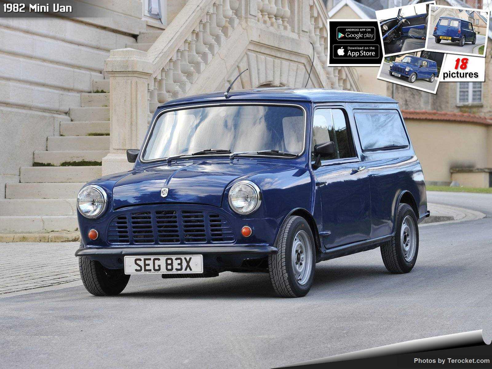 Hình ảnh xe ô tô Mini Van 1982 & nội ngoại thất