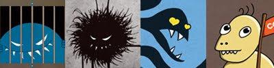 Evil monsters mugshots