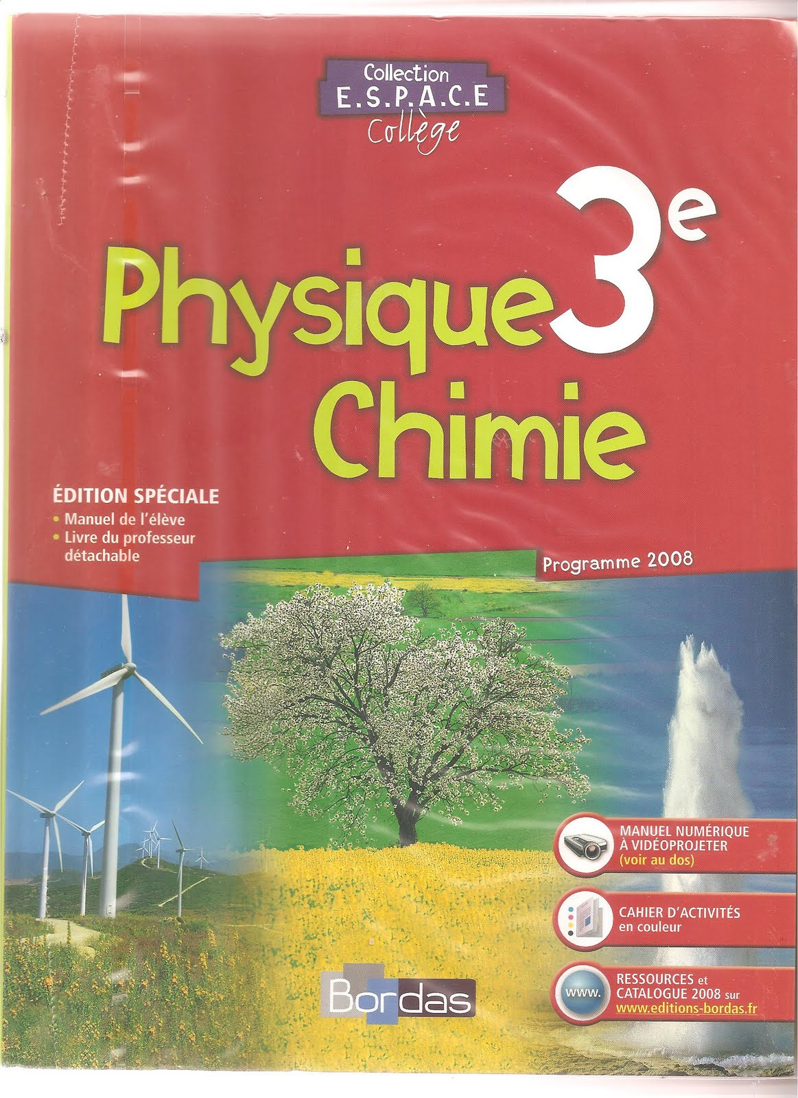 Livre Du Prof Belin 3eme