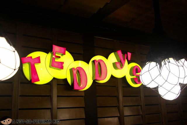 Teddy's Bigger Burgers Signage Logo