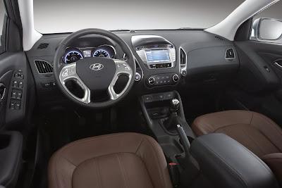Interior de Hyundai ix35