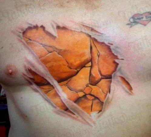 Grande tatuagem 3D! Clique para vê-la maior