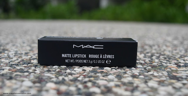 MAC matte lipstick in the shade DIVA