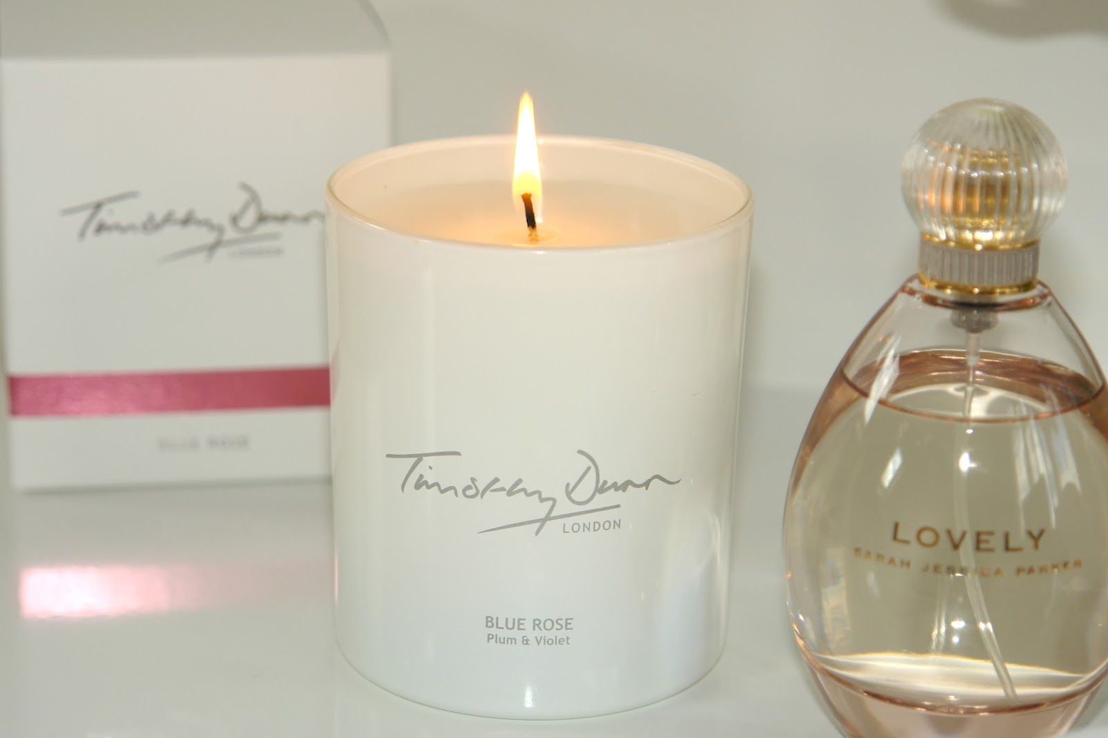 Few of my recent favourite things,  Timothy Dunn Blue Rose candle, review, Accessorize, candles, earrings, flowers, jewellery, perfume, Sarah Jessica Parker, Timothy Dunn,