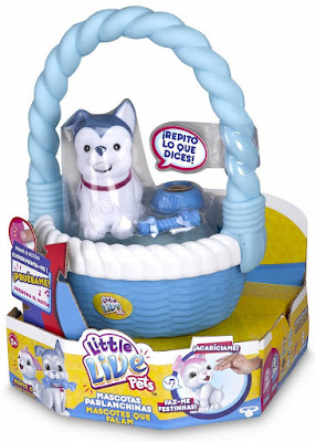 TOYS : JUGUETES - Little Live Pets  Mascotas parlanchinas - Perro con cesta  Producto Oficial 2016 | Famosa 700012884B | A partir de 5 años  Comprar en Amazon España