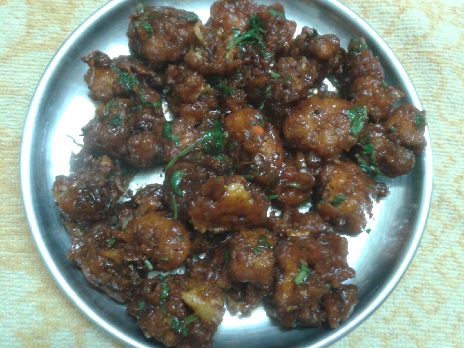 गोभी मंचूरियन  Gobi Manchurian Recipe