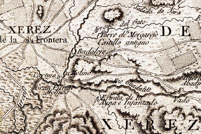 Mapa de los Términos de Xerez de la Frontera (Zarzana. 1787)