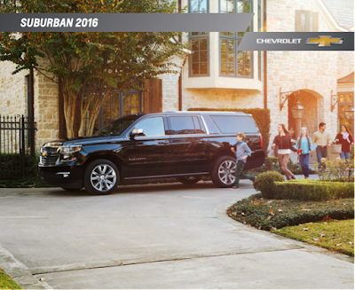 Downloadable 2016 Chevrolet Suburban Brochure