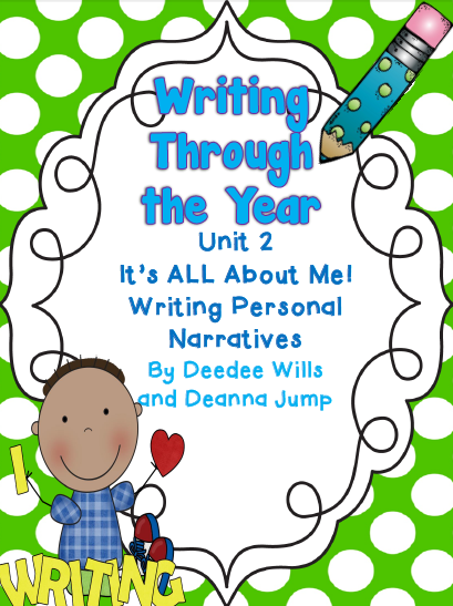 http://www.teacherspayteachers.com/Product/Writers-Workshop-Writing-Through-the-Year-Unit-2-Aligned-with-Common-Core-322937