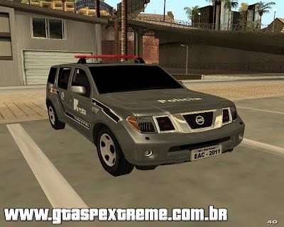 Nissan Pathfinder Rota Comado 2011 para grand theft auto