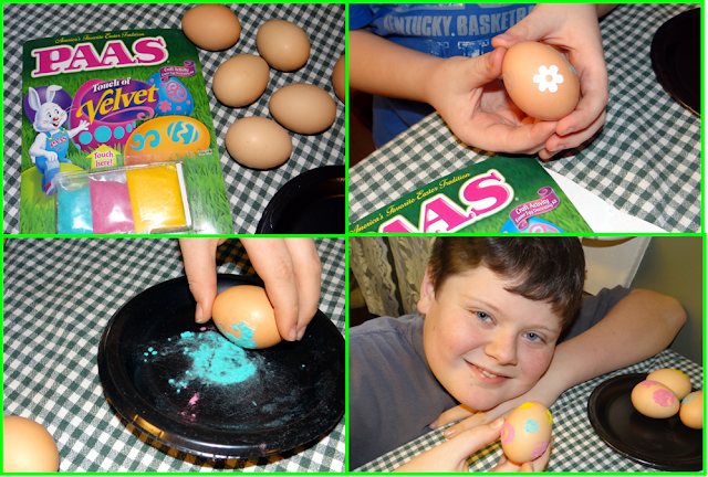 PAAS Velvet Egg Kit