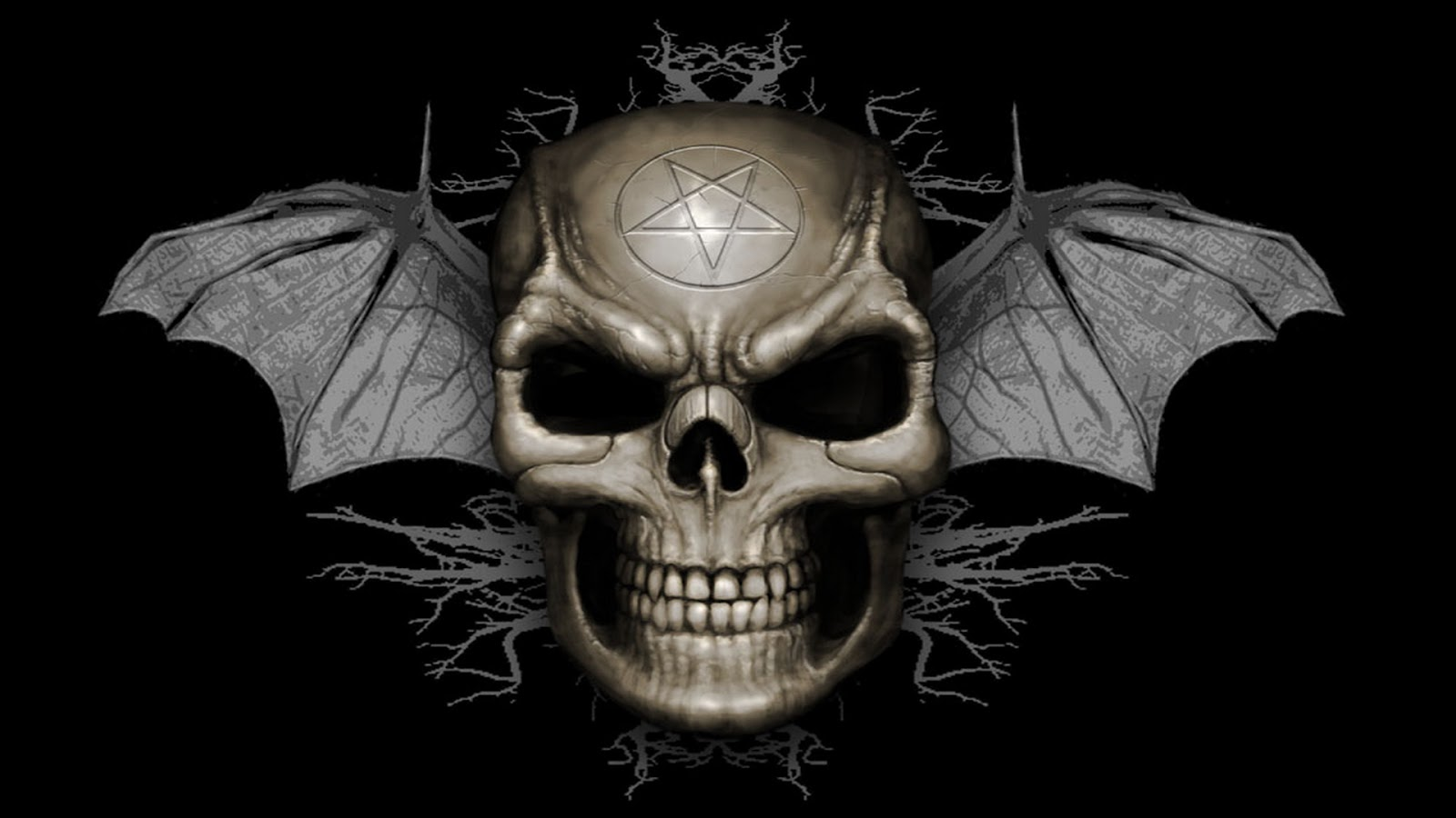 skull wallpaper wallpapers hd - photo #16