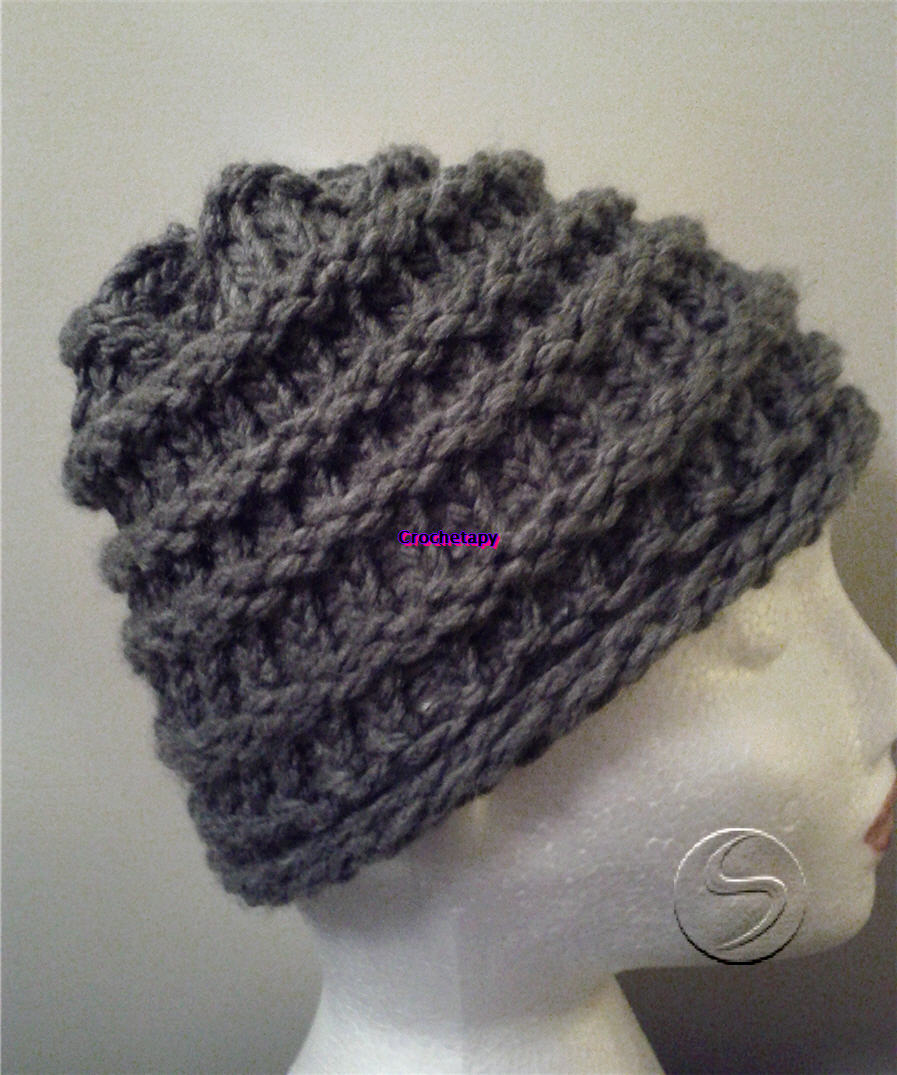 Loom Hat Finished Crochetapy