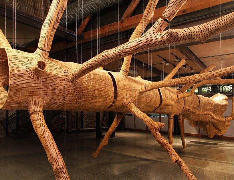 http://www.designboom.com/art/john-grade-middle-fork-sculptural-tree-skin-02-03-2015/