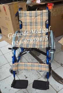 Gambar Kursi Roda Alumunium FS 208LAP
