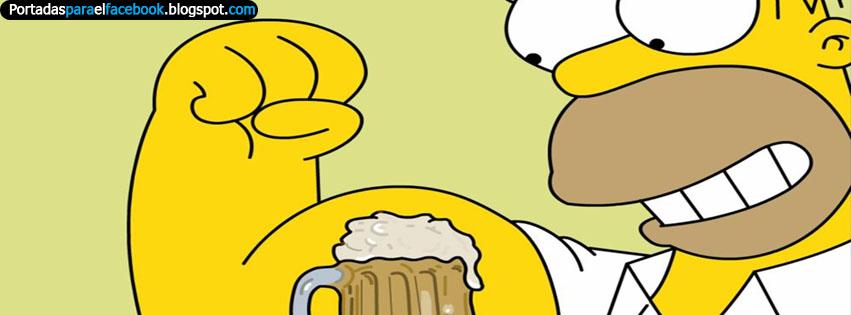Portadas para el Facebook de los Simpsons