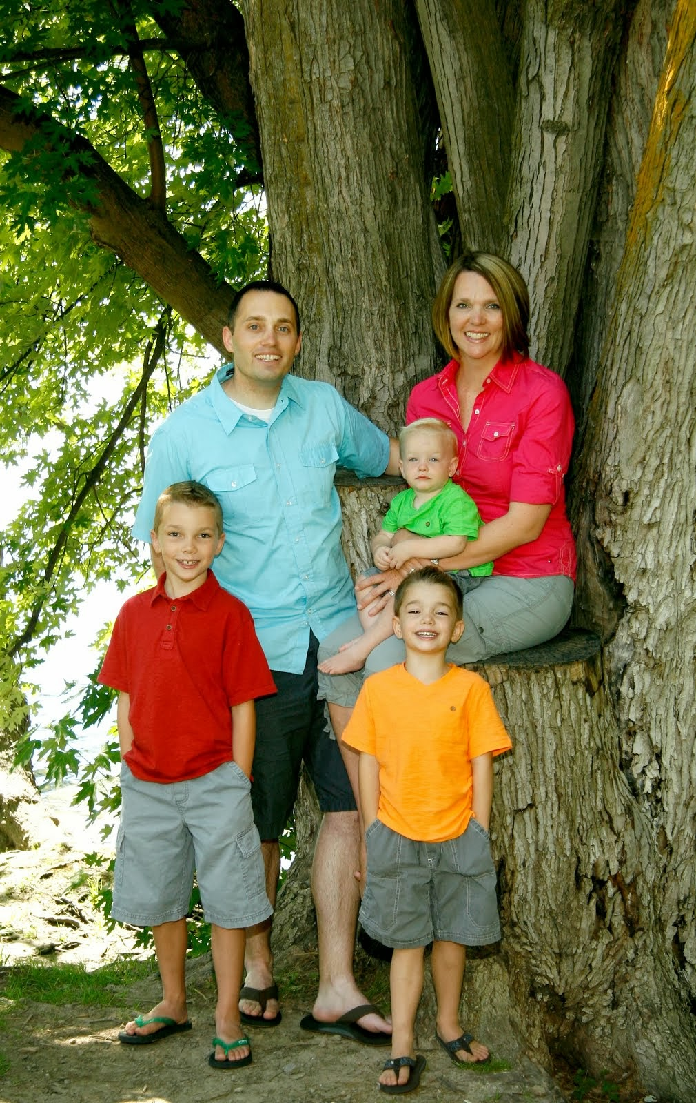 July 2013 Family Picture