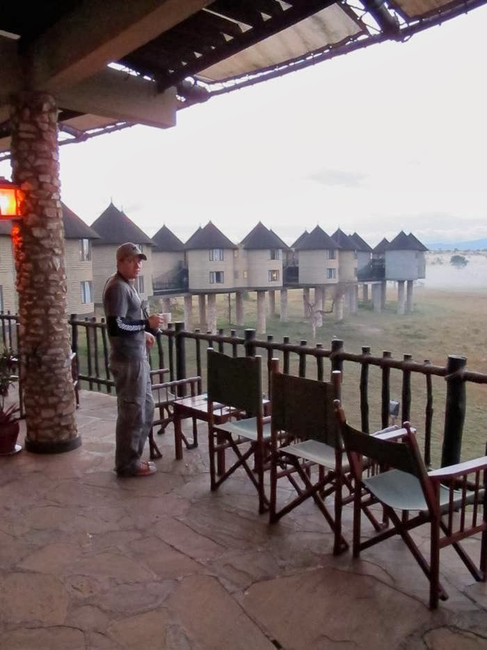 Sarova Salt Lick Game Lodge Kenya Tsavo National Park West Coast Province