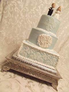 Damask Cake Tutorial