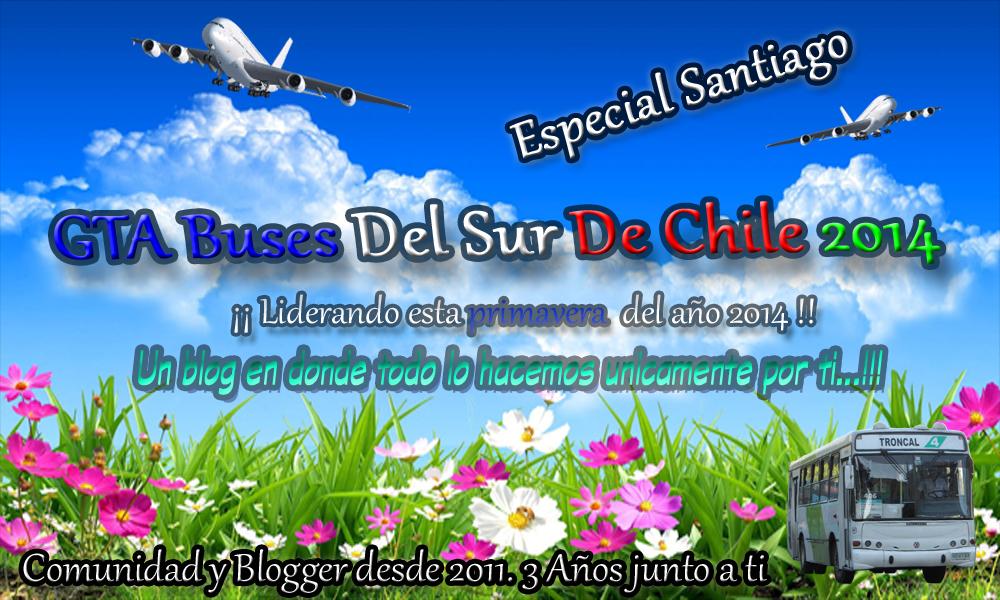 GTA Buses Del Sur De Chile || Especial Santiago