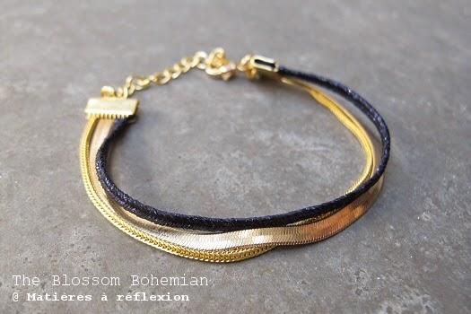 Bracelet multi-chaine Blossom Bohemian