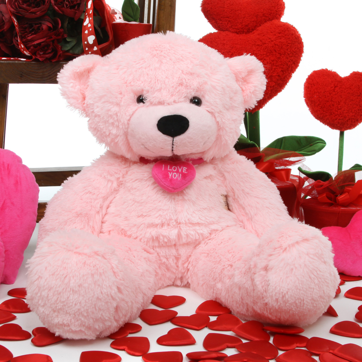 huge teddy bear valentines day
