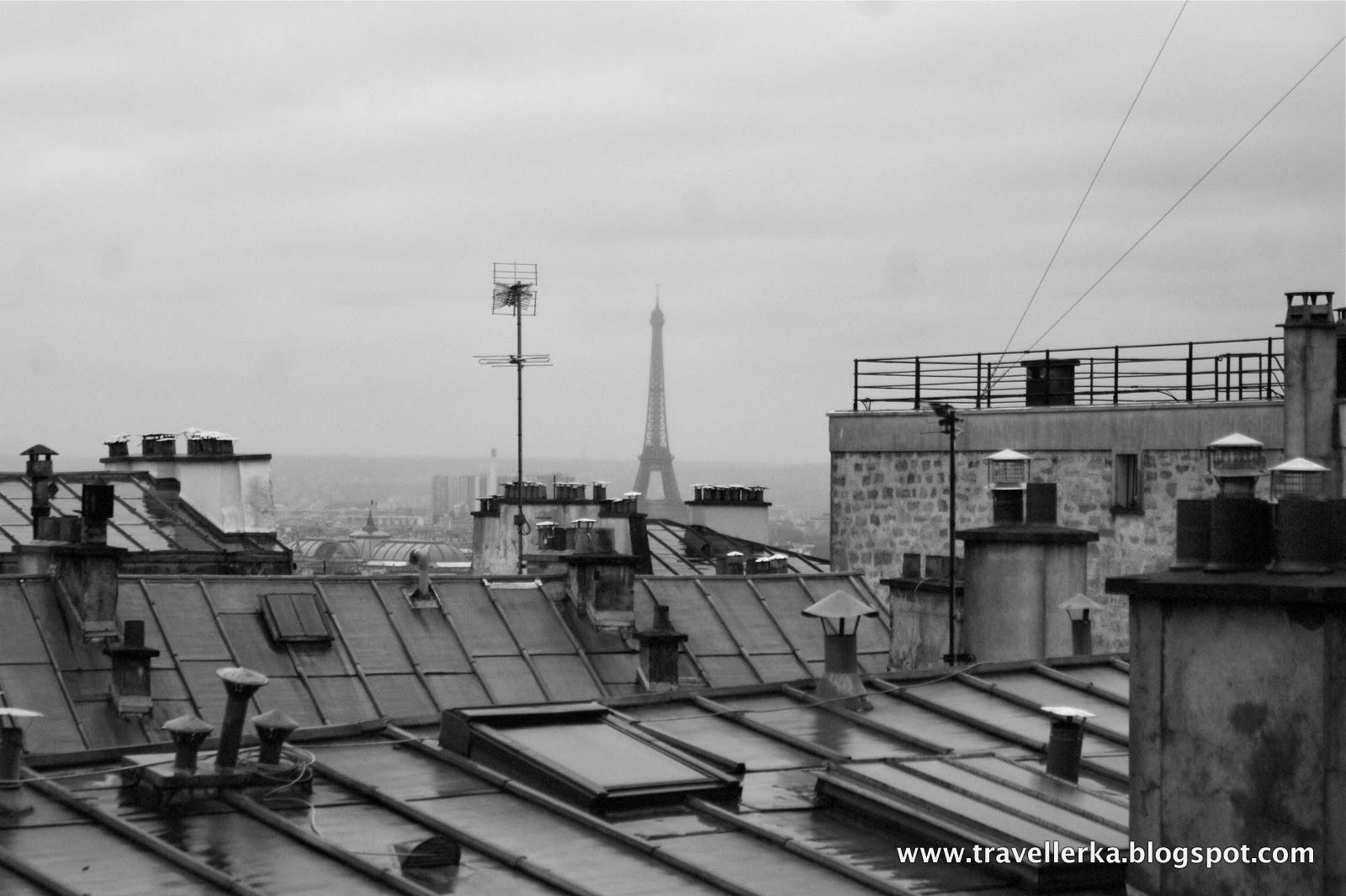 paryż, eiffel, montmartre