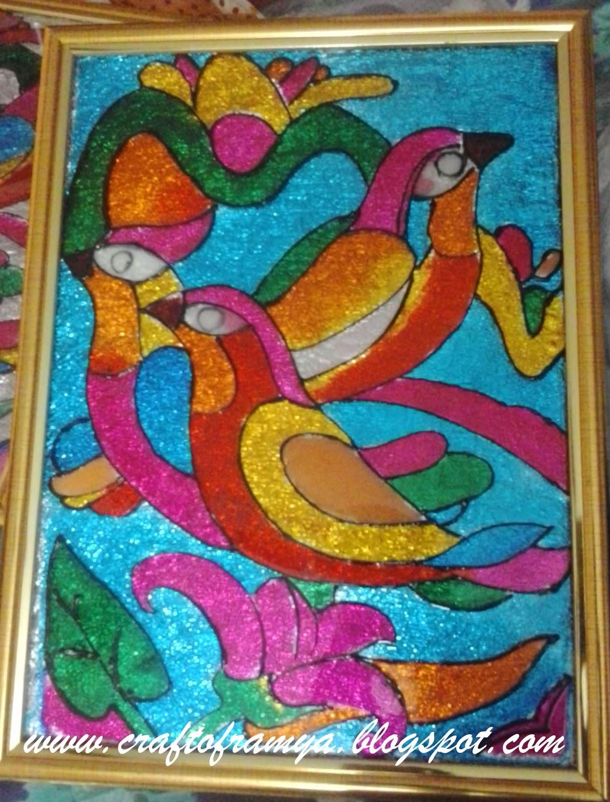 Creative glass paintings - Creative glass painting ideas ...