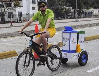 A la reciclovía por el día mundial del reciclaje