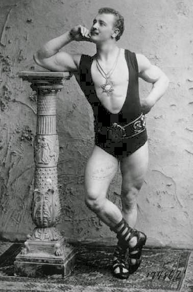 EUGEN SANDOW - Father of Bodybuilding