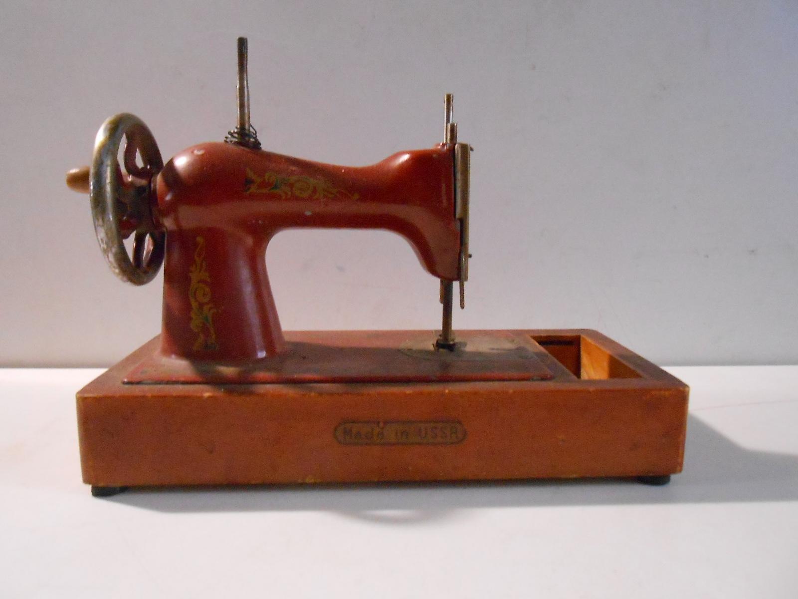 Giocattolo macchina da cucire in metallo parti mancanti for Macchina da cucire meccanica