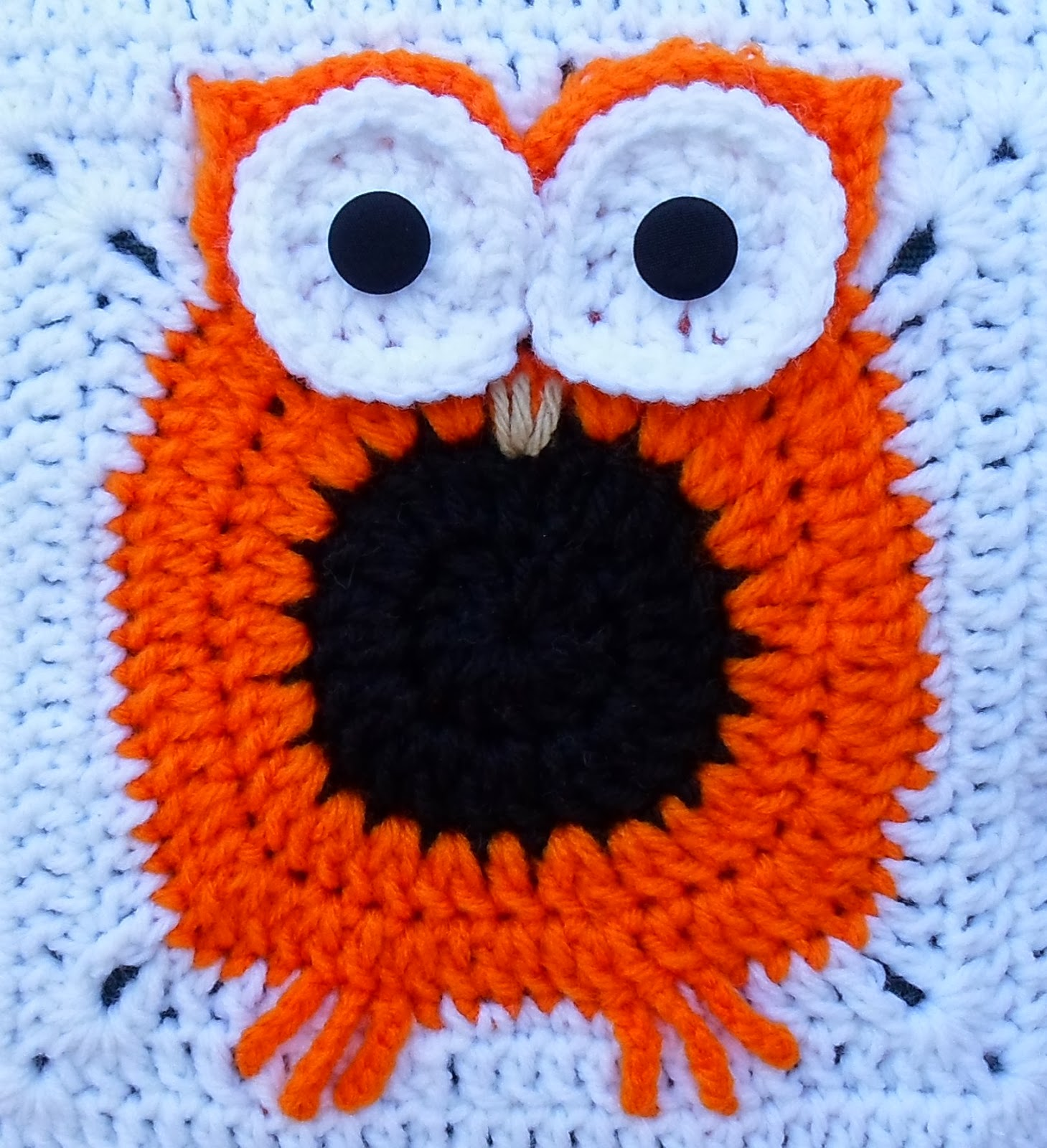 Owl Pillow Pattern Happier Than A Pig In Mud Crochet Owl Pillow Cover Pattern