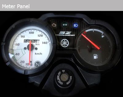 Yamaha SZ instrument, speedometer, fuel