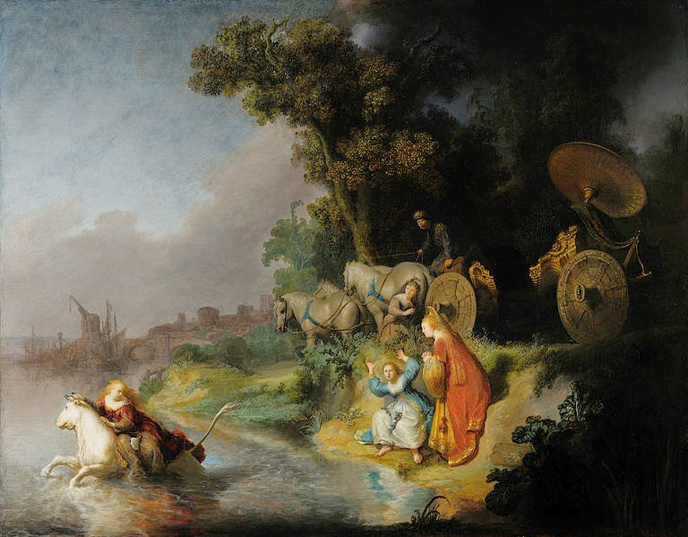 Abduction of Europa - Rembrandt