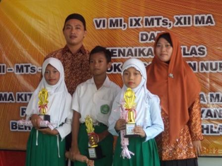 GALERI ANUGERAH SISWA BERPRESTASI YAYASAN DARMA INDONESIA (YADIN)
