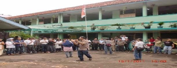 Markas Besar SMA Negeri 20 Jakarta Zaman Dulu